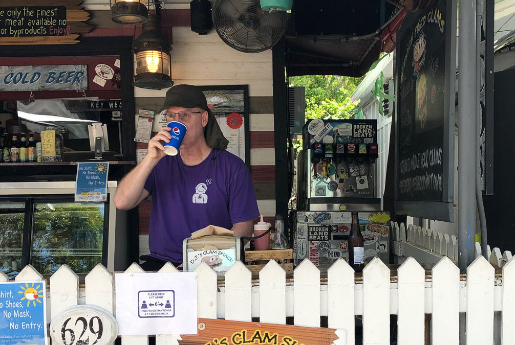 DJ's Clam Shack in Key West