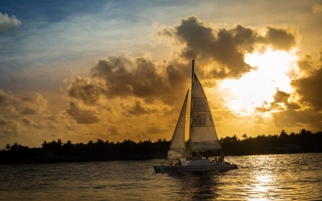 …Trying Out New Toys At Sunset at Mallory Square