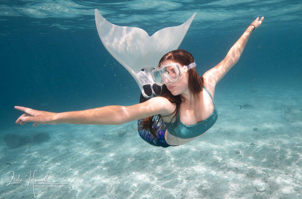 Bonaire: Mermaid Shoot
